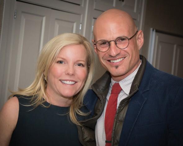 Stephanie Ingram and David Stark