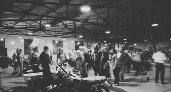 American Born Moonshine launch at the Neuhoff Factory, Nashville, TN. Photograph by Jonathon Kingsbury