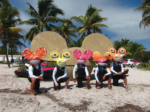 Sea-Doo x Deadmau5 product launch at the Winter Music Conference, Miami. Courtesy of Street Attack