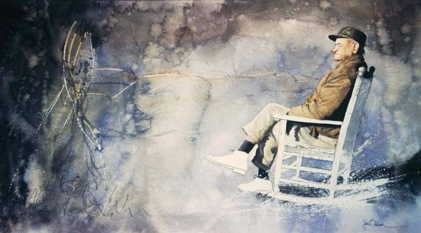 John Wilkison S Watercolors And The Southern Visual