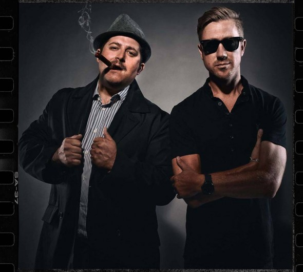 Brett Zaccardi, Main Character and Nathan Brown, Director of Disruption. Photograph by John Scarpati.