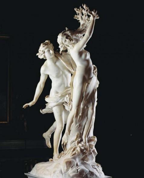 "Gian Lorenzo Bernini, 1625, Apollo and Daphne, Marble, 93"" at Galleria Borghese. Photograph: Andrea Jemolo/Scala / Art Resource, NY"
