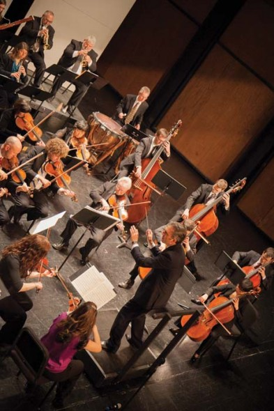 Gateway Chamber Orchestra. Photograph by Allison Campbell