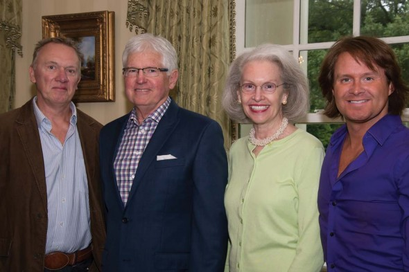 Brian Gilleland, Steve Sirls, Margaret Boyd and Hugh Howser