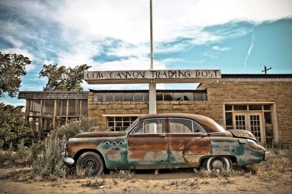 """Cow Canyon Trading Post, 2009, Color photography, 12"""" x 18"""""""