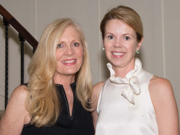 Swan Ball Auction Chairmen Cathy East and Carolyn Taylor