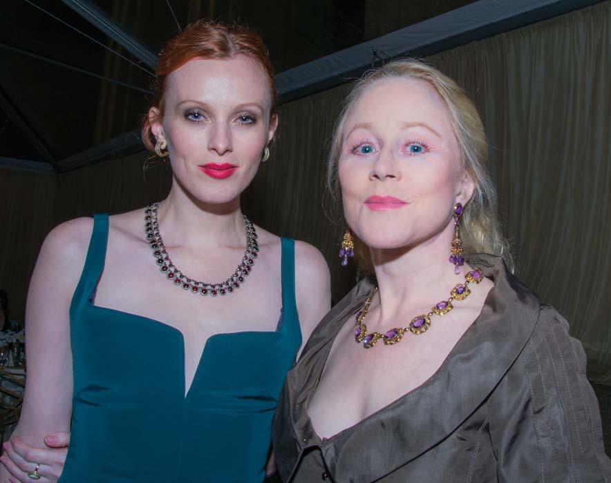 Karen Elson and Kate Grayken