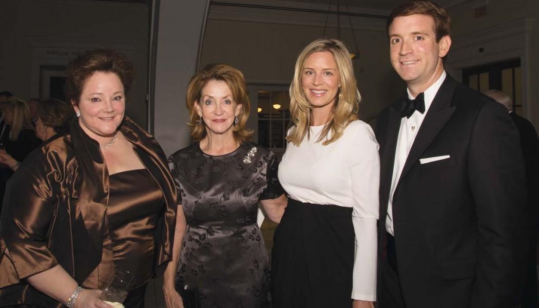 Deborah Lovett, Karyn Frist, Ashley and Harrison Frist