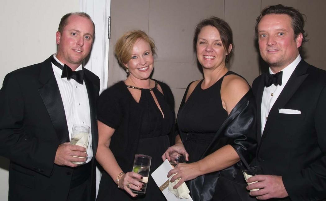 Lee and Brande Thomas, Jennifer and Eric Viars