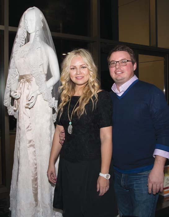 Olia Zavozina and Robbie Bell