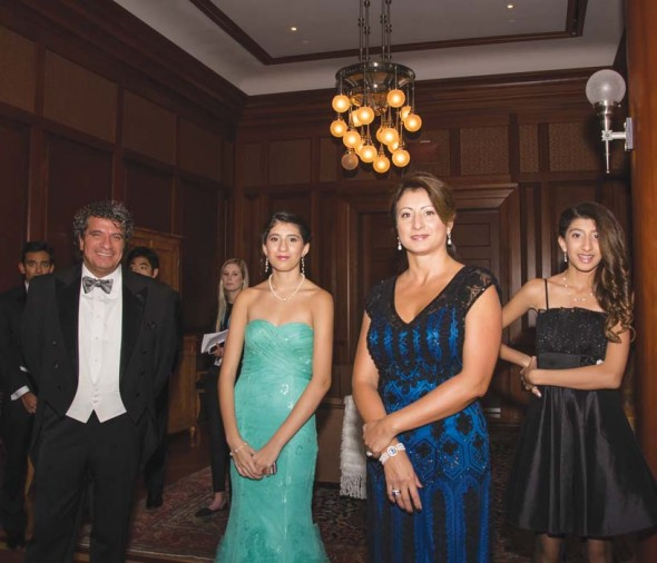 Giancarlo, Virginia, Shirley, and Claudia Guerrero
