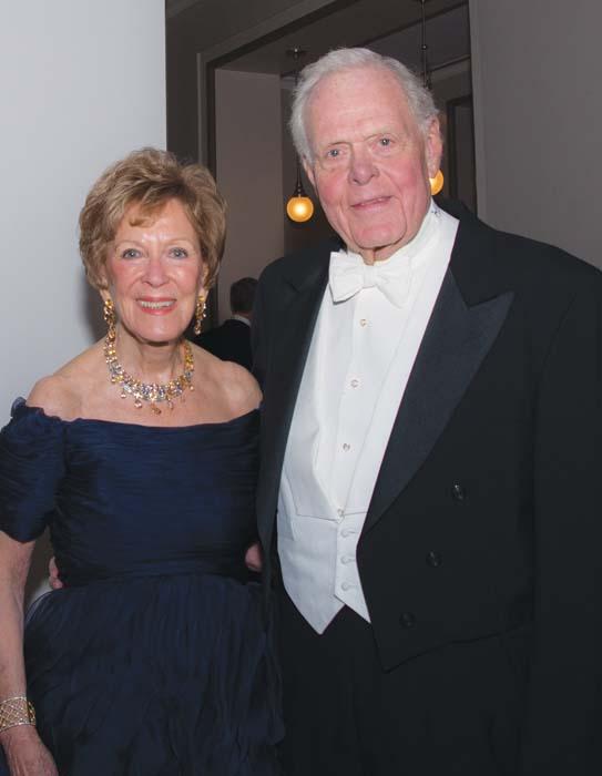 Martha Ingram and Gil Merritt