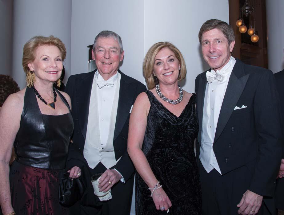 Susan and Luke Simons with Kathy and Bobby Rolfe