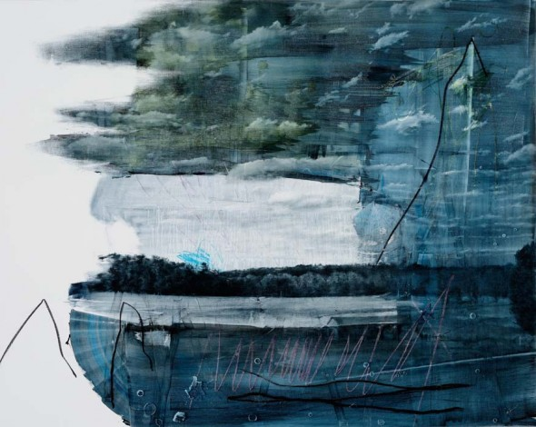"Toler 3, 2014, Oil on panel, 48"" x 60"""