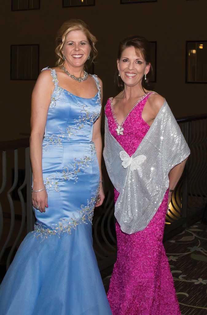 Sherry Hooten with La Bella Notte Chairman Kathleen Evers