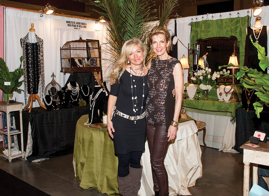Helli Luck and Jackie Hicks