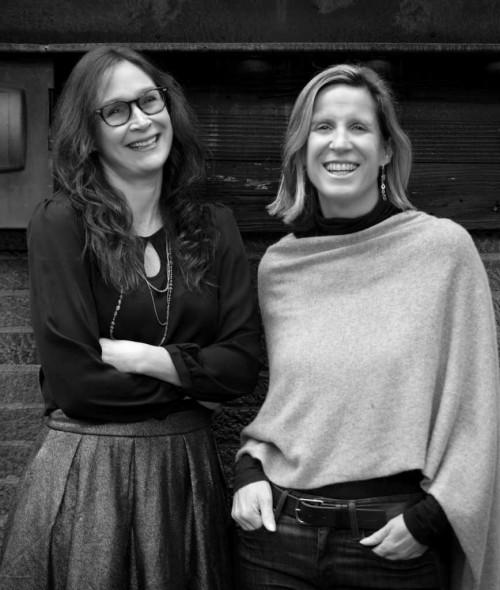 Susannah Felts and Katie McDougall