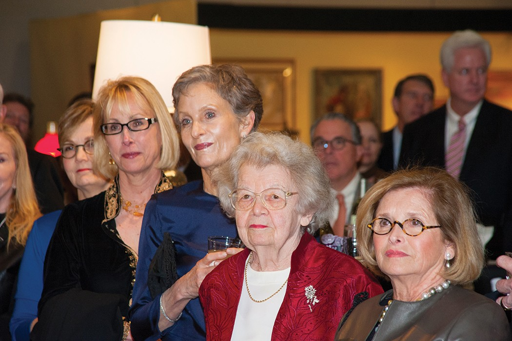 Cathy Shell, Kate Ezell, Betty Hadley and Connie Cigarran