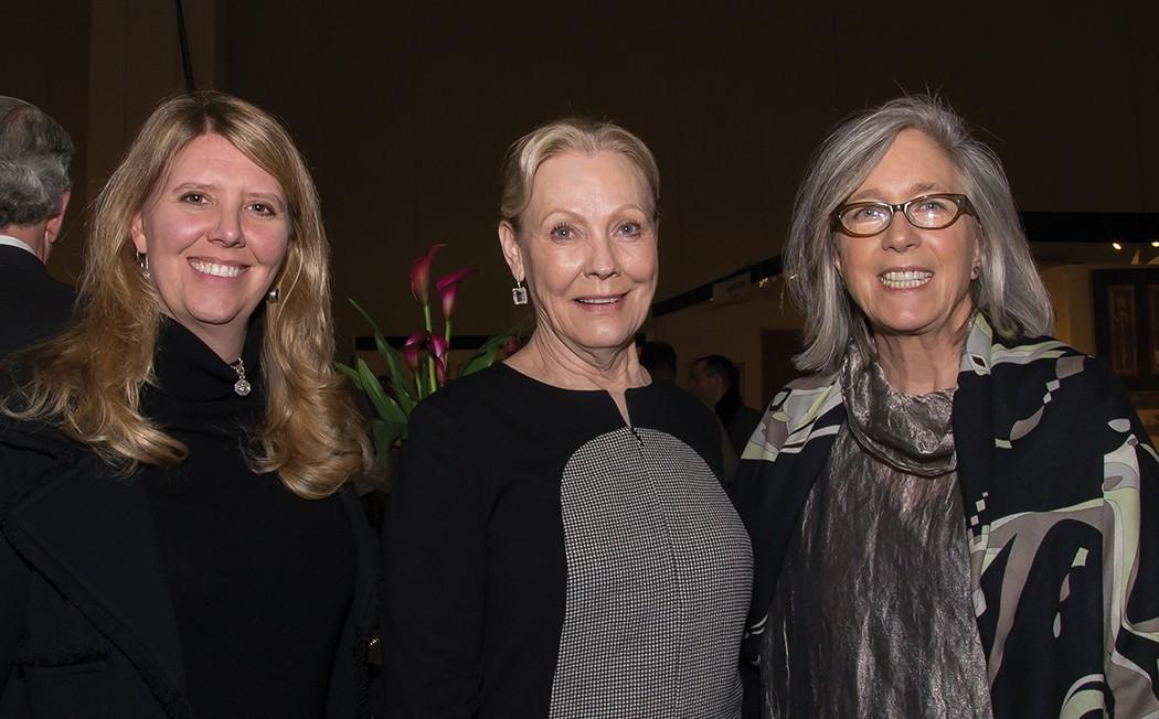 Ashley Sullivan, Elaine Sullivan and Flower magazine Editor Margot Shaw