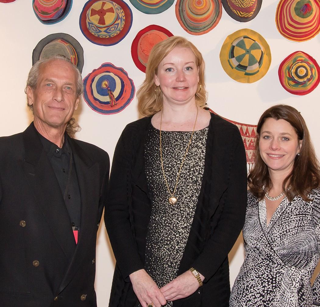 Kip McKesson, Elizabeth Foss and Farrar Looney