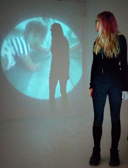 Self Portrait with Projection