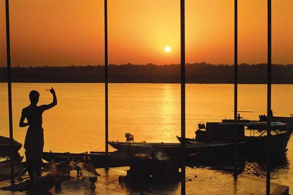 Puja Sunrise, Varanasi, India