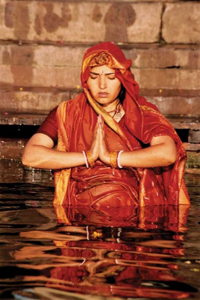 Indian Mikvah, Varanasi, India