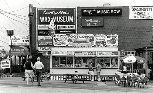 Music Row at Demonbreun and 16th Avenue South