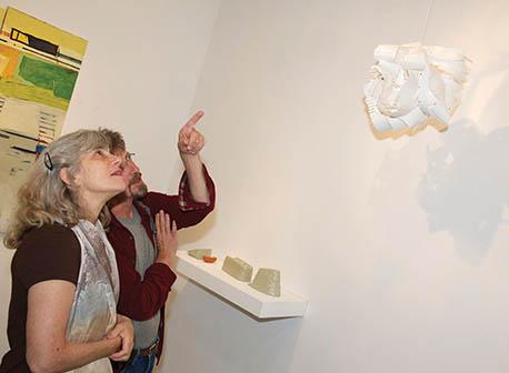 Arleen Tuchman and David Zolensky at Coop Gallery