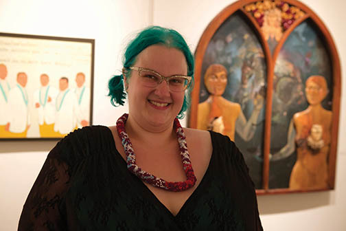 Rose Marie Pink at Julia Martin Gallery