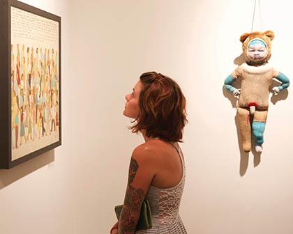 Trish Knight at Julia Martin Gallery