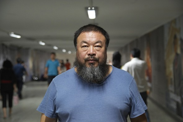 Ai Weiwei in The Fake Case