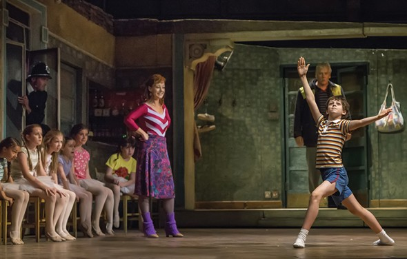 Ruthie Henshall and Elliott Hanna in Billy Elliot the Musical Live on GREAT PERFORMANCES.