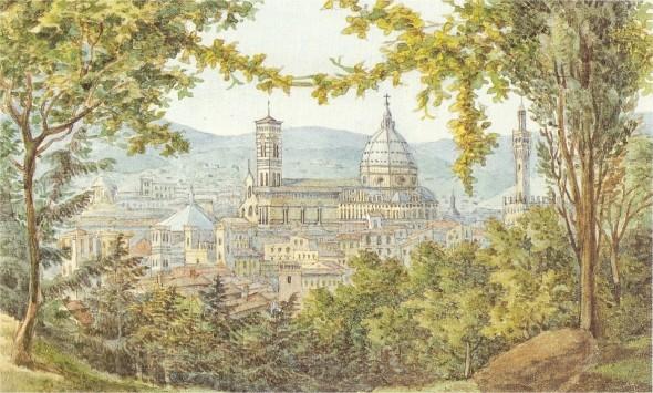 Blick_auf_Florenz_-_Aquarell_von_Felix_Mendelssohn_1830