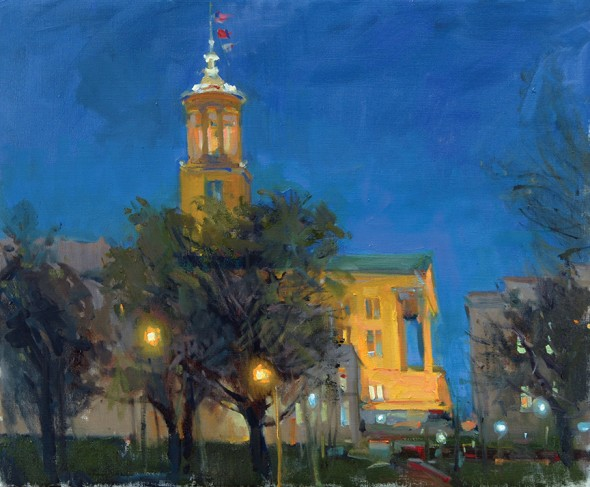 "Dawn E. Whitelaw | Strickland's Glory | 2015 | Oil on canvas | 20"" x 24"""
