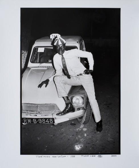 Taximan Avec Voiture