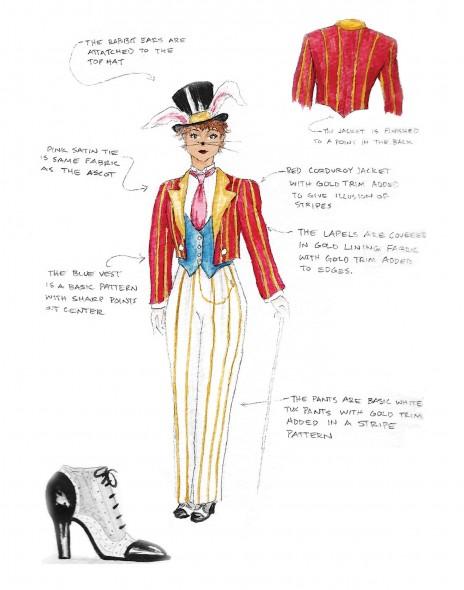 Costume Design- White Rabbit