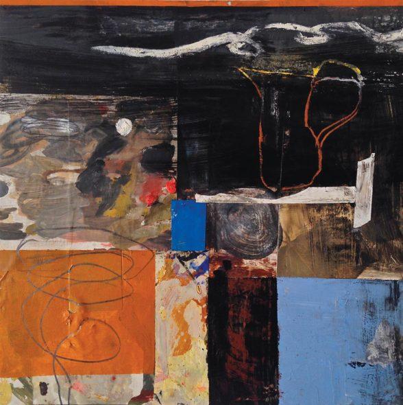 Mark Eanes, Untitled XI 24 x 24 (1)