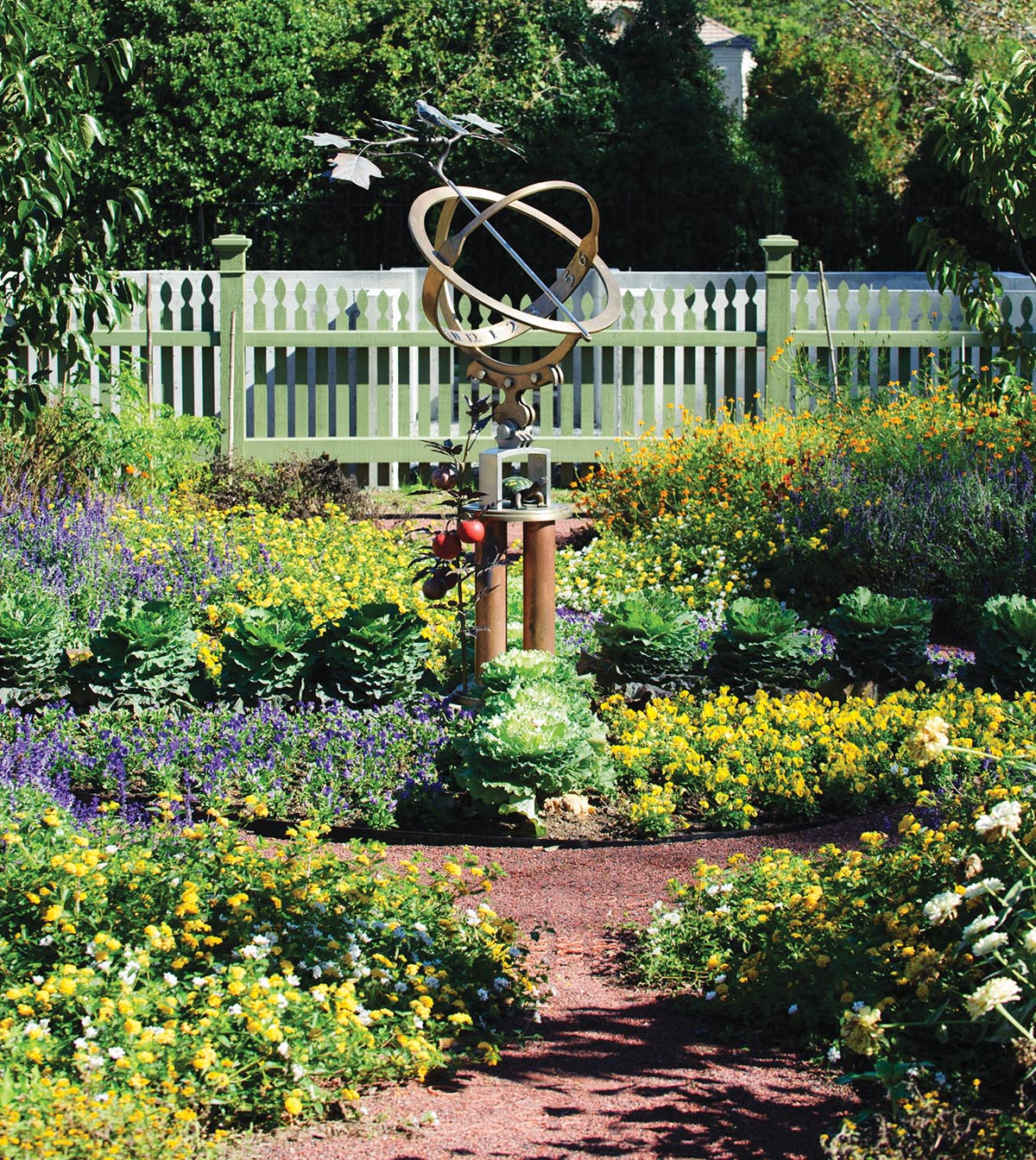 Tennessee Armillary Sphere Sundial Designed By Jim Masterson Photograph By  Tennessee State Photography