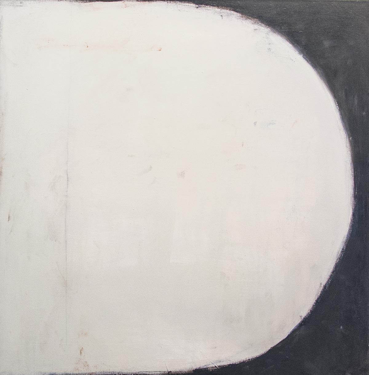 """Moon, 2016, Oil on linen, 40"""" x 40"""""""