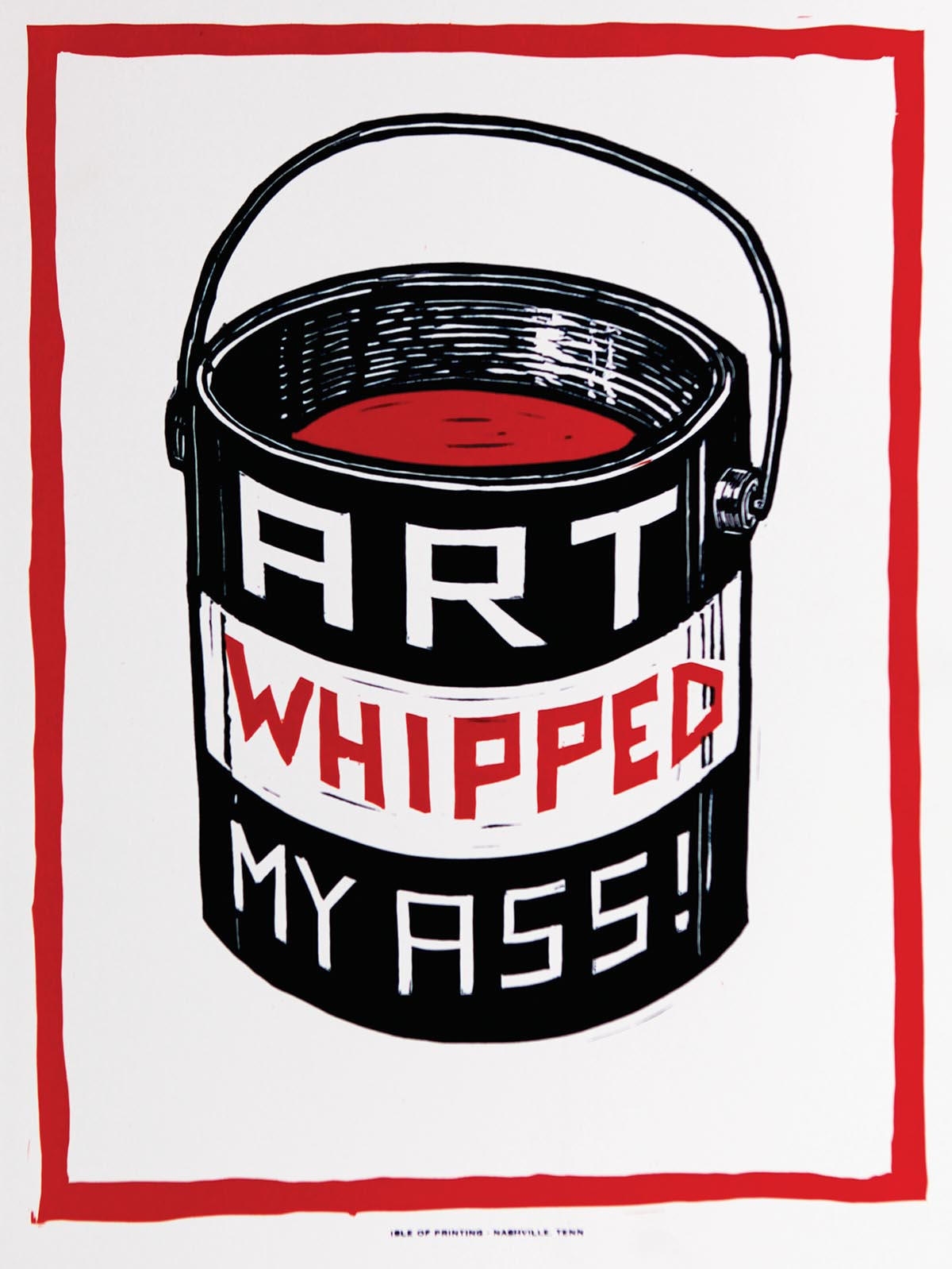 HATCH-ed: Hatch Show Print\'s Iconic Impression upon Four Artists -