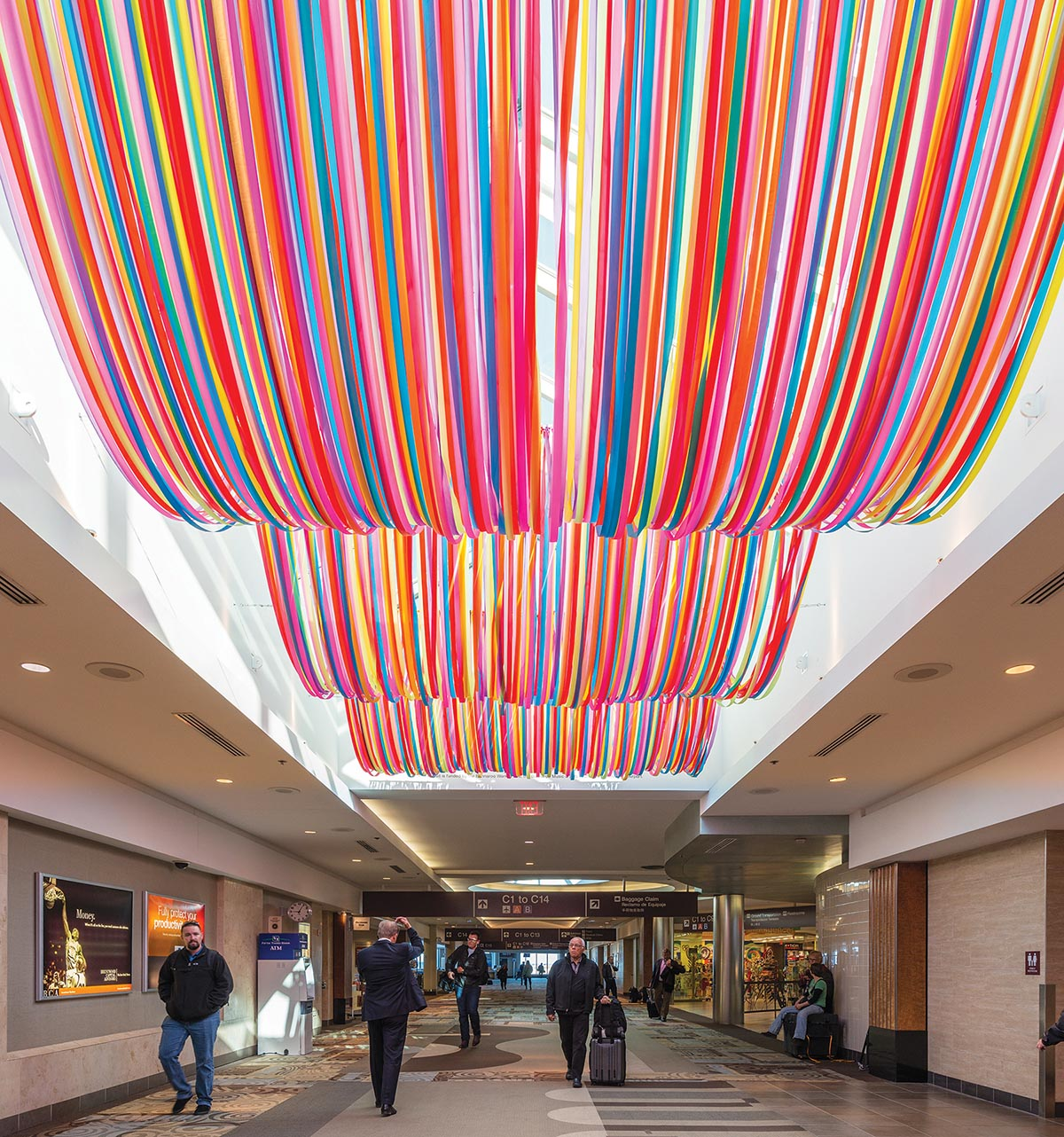 Art Reaches New Heights At The Nashville Airport