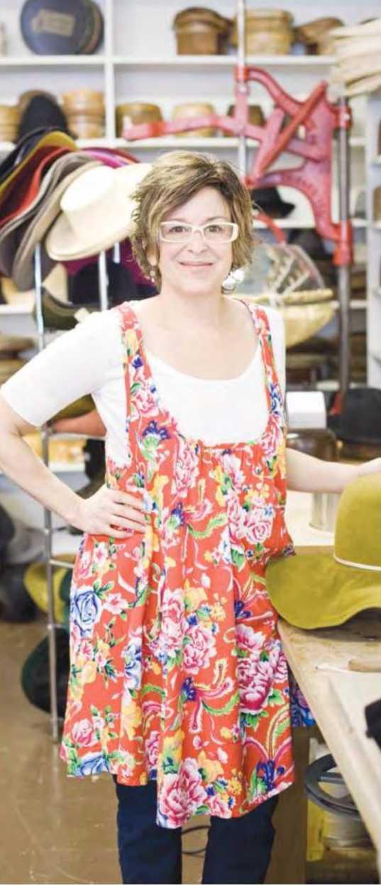 Gigi Gaskins, hatWRKS, Nashville, by Brooke Bowling