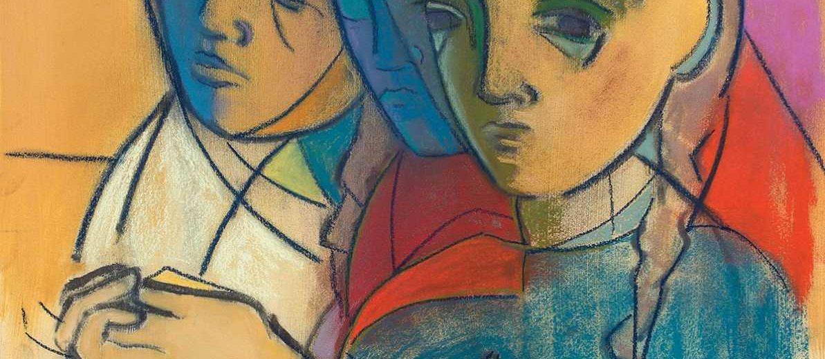 Iyengar Yoga Instructor Aretha McKinney Showcases Her Paintings At