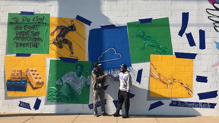 Sprite Fosters Local Creativity Through Mural Nashville